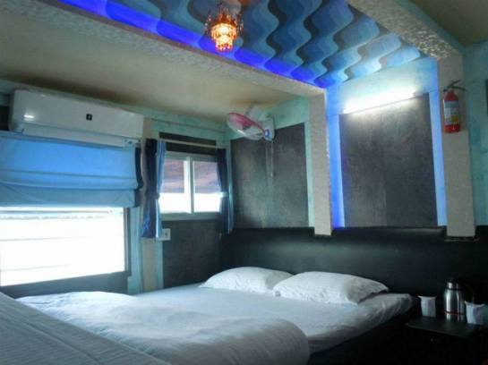 My room in lower deck